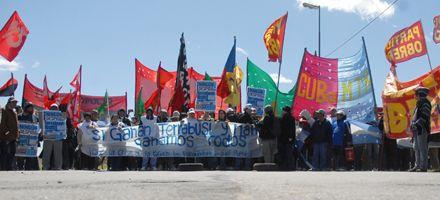 Levantan el corte de la autopista a Buenos Aires en apoyo a trabajadores de Kraft