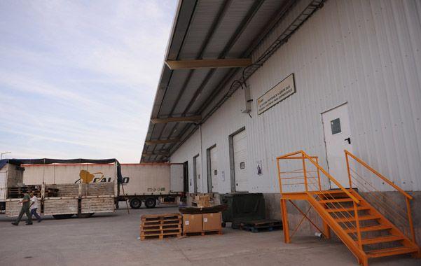 Lejano oeste. La firma de logística integral Calicó está en un área industrial en el límite entre Rosario y Pérez.