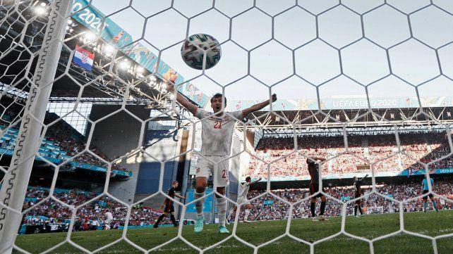 España perdía con un humillante gol en contra, pero lo dio vuelta y derrotó 5 a 3 a Croacia