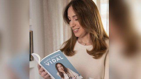 """María Eugenia Vidal retomó este año la escena pública con su libro """"Mi camino""""."""
