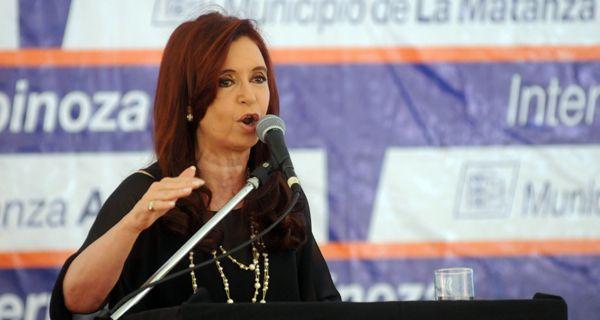 Cristina: Nada ni nadie nos hará cambiar y vamos a seguir hasta el último aliento