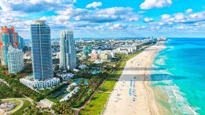 Miami, entre los 5 destinos más buscados por los argentinos