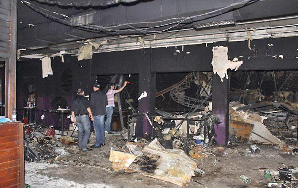 Pavoroso. El interior del club Kiss se convirtió en una trampa dantesca para más de dos mil personas.