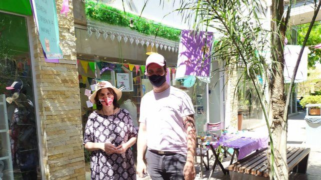 María Eugenia Ponsatti y Mariano Del Grande, impulsores de la Semana de la lectura.