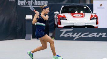 Podoroska cerró en Austria -donde nunca había jugado- su mejor año y en 2021 le espera una temporada repleta de desafíos, entre ellos los Juegos Olímpicos de Tokio 2020.
