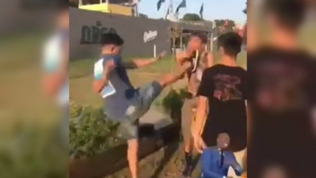 Un mendocino recibió una feroz golpiza en un bar de Villa Gesell