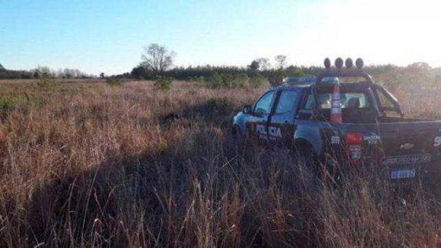 Macabro. El descampado de Recreo donde fue hallado Diego Román el pasado 4 de julio.