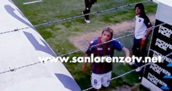 Un video anticipa la agresión de la barra de San Lorenzo a Bottinelli