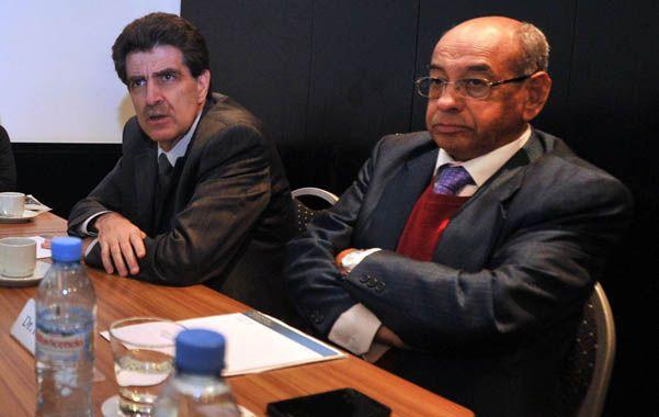 Raúl Morín y Carlos López Patán disertaron sobre obesidad en la ciudad de Buenos Aires.