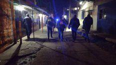 Un violento ataque a balazos se registró este viernes por la noche Calle 409 y bulevar Seguí.