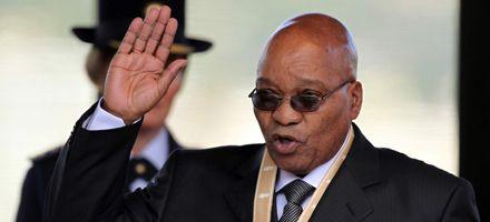 Jacob Zuma prestó juramento como nuevo presidente de Sudáfrica