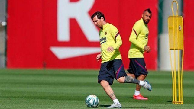 Messi se recuperó de una contractura.
