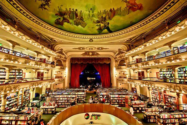 La librería El Ateneo de Buenos Aires