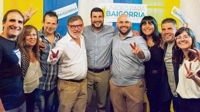 Unidad para Baigorria. Cleri participó de la presentación de la lista.