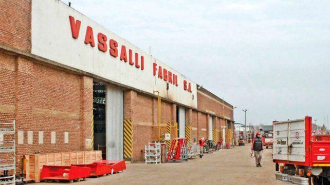 Vassalli está ubicada en la localidad de Firmat.
