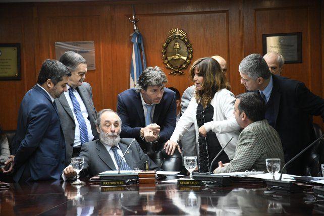 Pichetto no fue al Consejo de la Magistratura y preside la reunión Tonelli