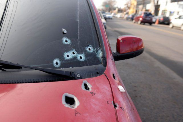 Damián Gómez fue ejecutado el lunes pasado cuando manejaba un Chevrolet Celta rojo en inmediaciones de Balcarce y Anchorena.
