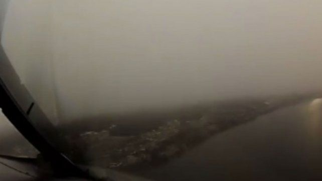 A través de un video, un piloto muestra lo que ningún pasajero puede ver