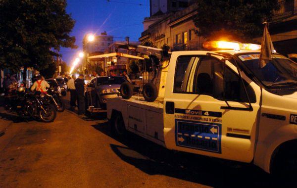Los vehículos de los conductores que dieron positivo en los controles de alcoholemia fueron remitidos al corralón municipal
