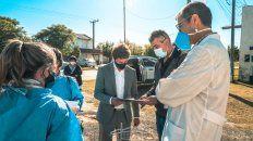 teodelina: detectaron un solo positivo en un operativo de testeos rapidos para prevenir contagios