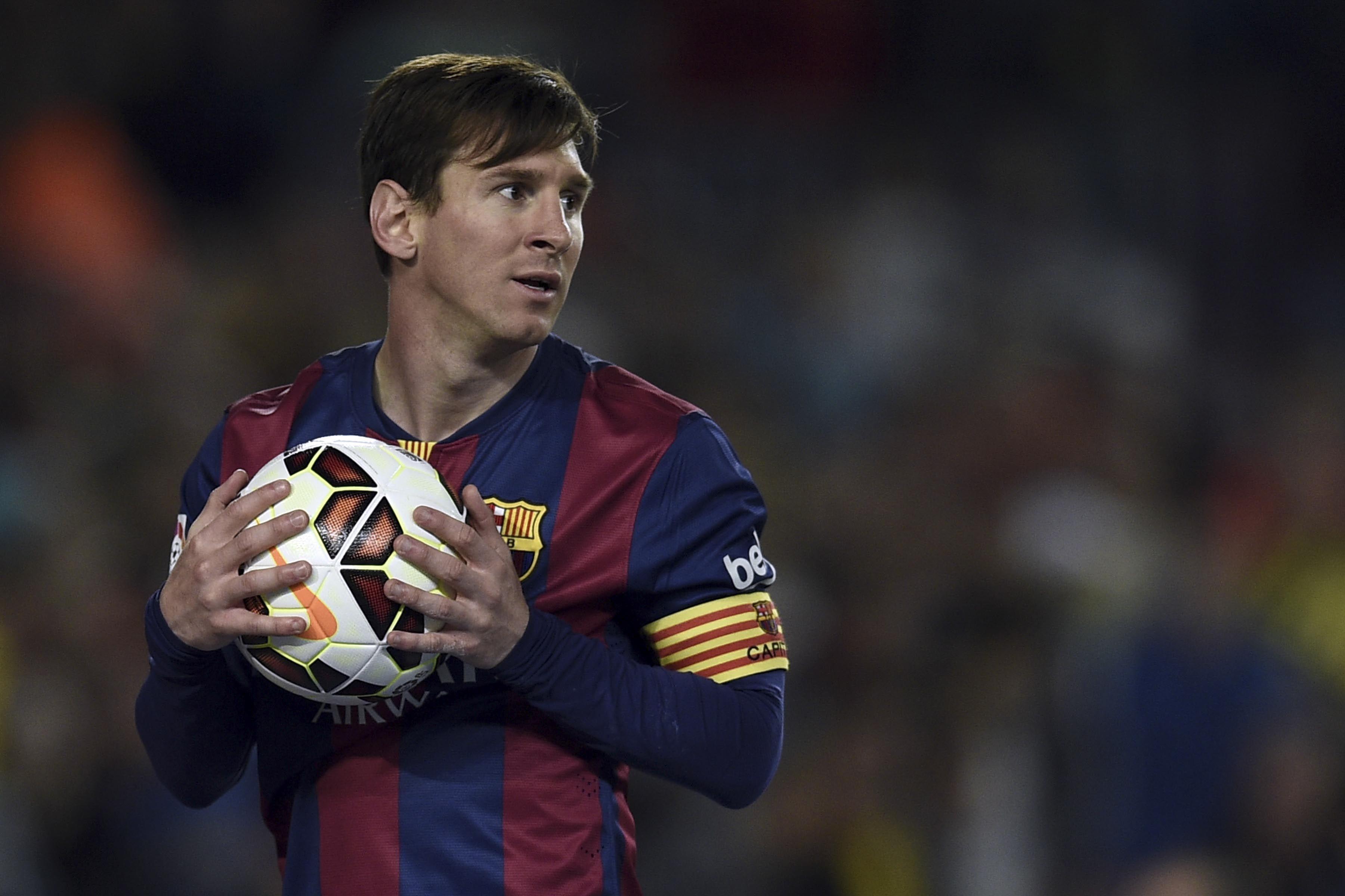 Leo Messi está en un buen momento.