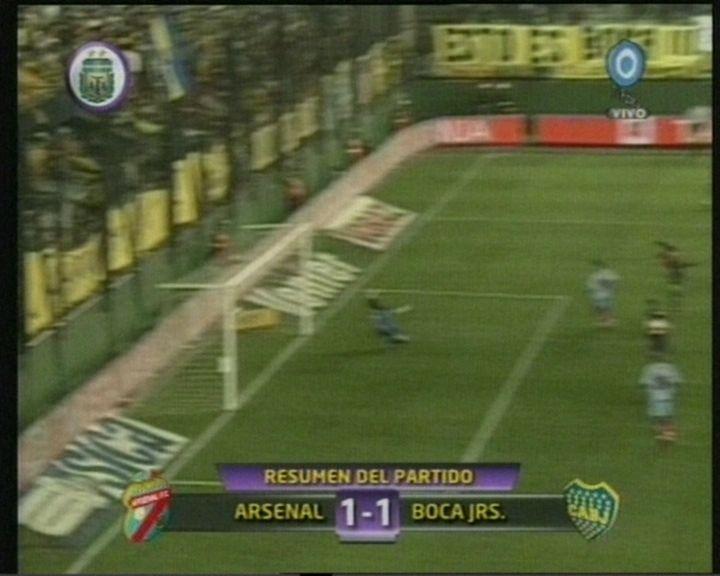 Boca lo tenía en Sarandí pero Arsenal le empató y lo dejó lejos de todo