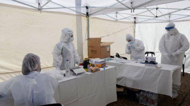 Coronavirus: con 697 casos nuevos, Rosario registró el número más alto de contagios en cinco meses y medio