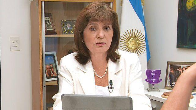 Bullrich responsabilizó a sectores del kirchnerismo por las agresiones a Macri en Mar del Plata