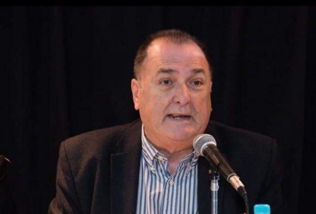 Antonio Ratner, secretario general del Sindicato de Trabajadores Municipales de Rosario y referente de Festram.