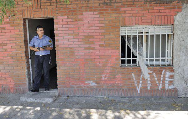 Calcinado. La Policía encontró muerto a Miguel Silva en su casa.