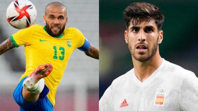 Brasileños y españoles pelearán por el oro olímpico.