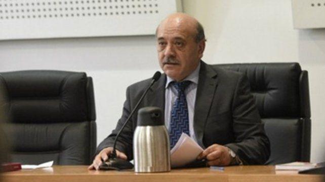 camarista. Daniel Acosta analizó acusaciones al grupo de Alvarado.