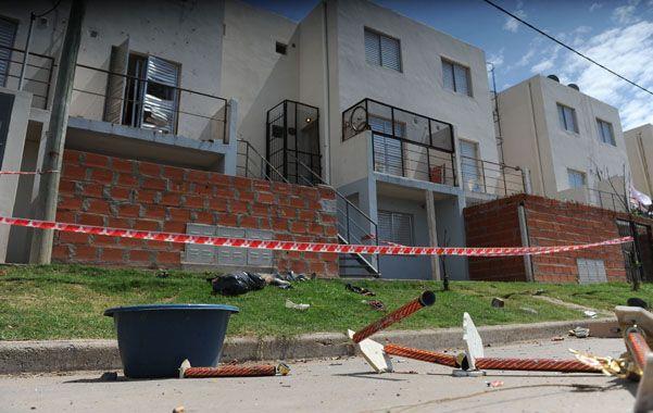 Zona cero. Al parecer Trigo fue asesinado por un hombre que pretendía la casa que él había comprado irregularmente. (foto: Francisco Guillén)