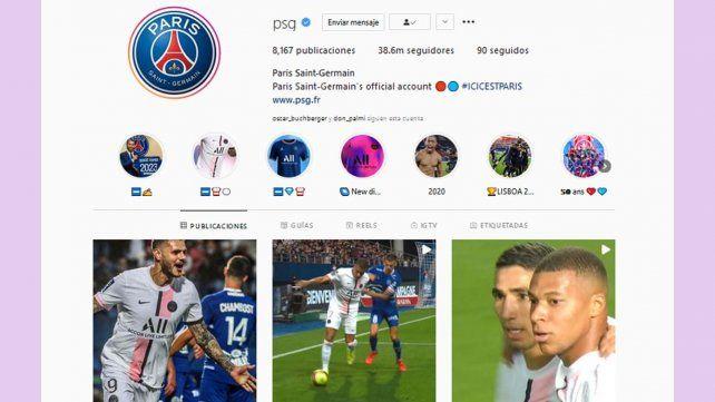 Efecto Messi: se multiplican los seguidores de PSG en distintas las redes sociales