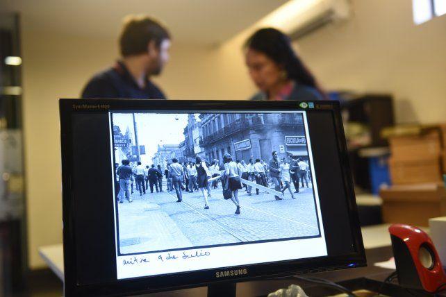 En el Centro Documental del Museo de la Memoria hay imágenes tomadas en ocasión del Rosariazo de 1969.