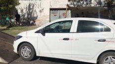 Uno de los vehículos que fueron remitidos al corralón municipal.