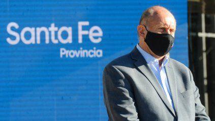 El gobernador de la provincia de Sata Fe, Omar Perotti, se manifestó contrario al cierre de las exportaciones de carne.