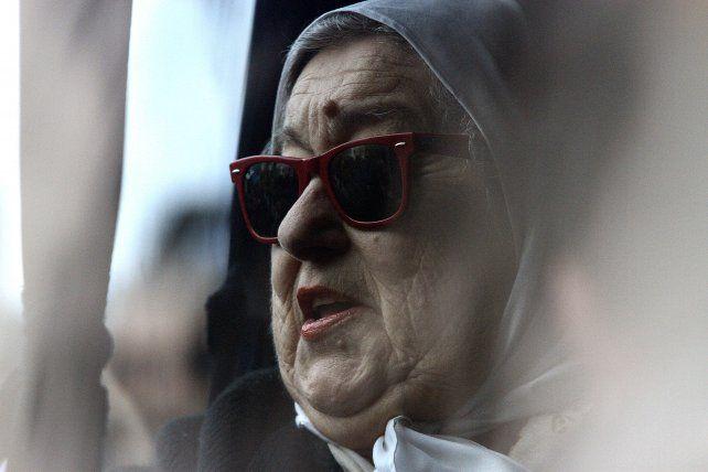 polémica. Días atrás Bonafini se había negado a acudir a Tribunales para cumplir con el requerimiento del juez.