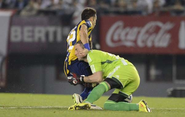 Niell cae ante Chiarini que le cometió un claro penal que pudo darle el empate a Central.