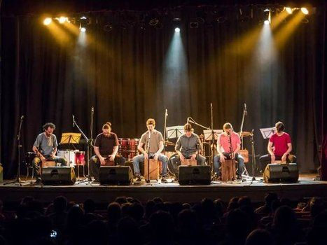 Percusión contemporánea de la mano del grupo dirigido por Pablo Rodríguez.