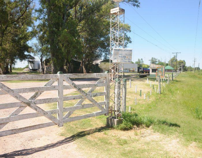 La arrocera donde fueron encontrados el lunes Cristian Lanatta y Víctor Schillaci.