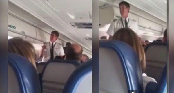 La puerta de la cabina de mando de la aeronave quedó bloqueada por causas que por el momento se desconocen.