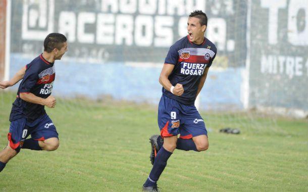 El grito de gol. Gastón Silvani es la gran carta ofensiva del equipo de Tablada.