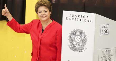 Brasil: Dilma no llegó al 50 por ciento y deberá ir al ballottage con Serra