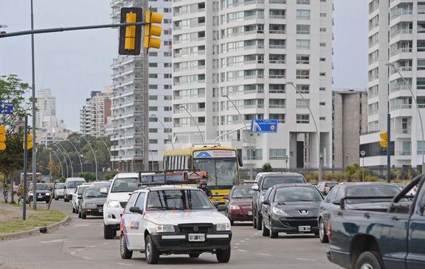 La culminación de la doble traza de la avenida de la Costa podría ser una realidad en el primer trimestre de 2015.