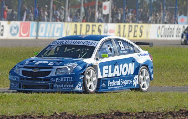 El Chevrolet de Néstor Fontana aprovechó un descuido de Néstor Girolami.