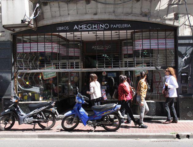 La librería Ameghino