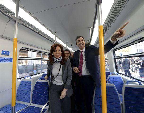 Ayer la presidenta anunció que enviará al Congreso un proyecto para que el Estado se haga cargo de los ferrocarriles.