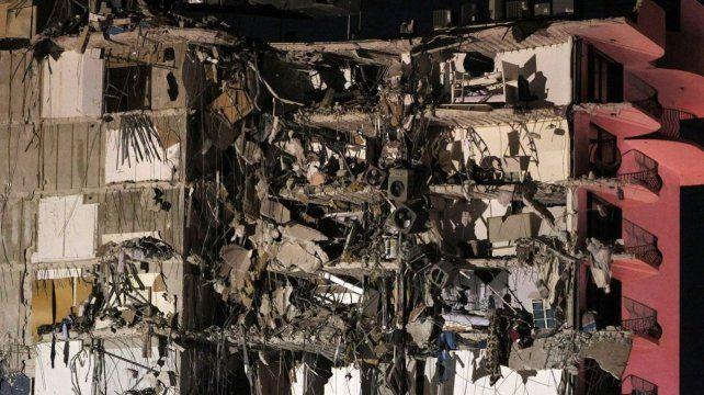 Investigan las causas del derrumbe del edificio en Miami: descartan un atentado