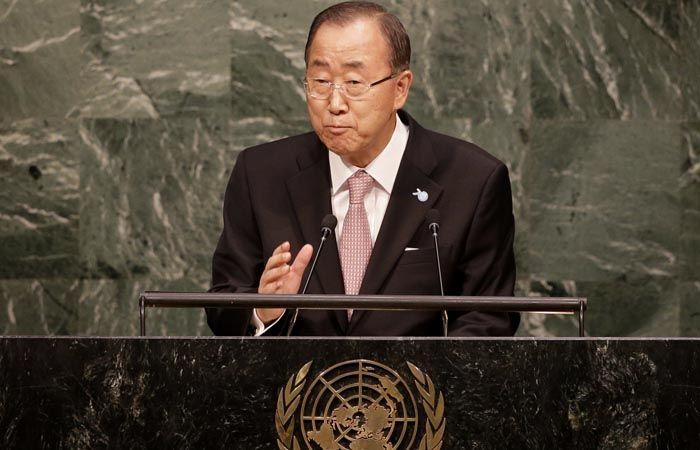El secretario general de la ONU